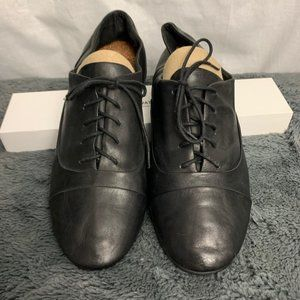 Lucky Brand Black Leather Oxford 9